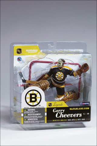 McFarlane - NHL Legends Series 1 - Gerry Cheevers Figure