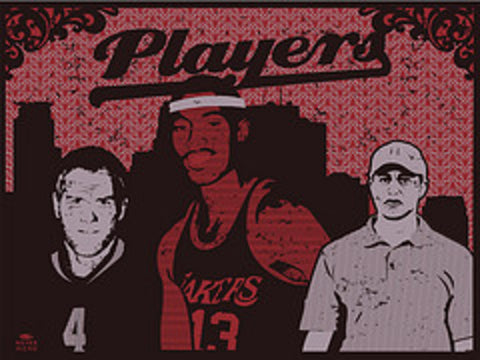 MC - 2011 - Players Art Print