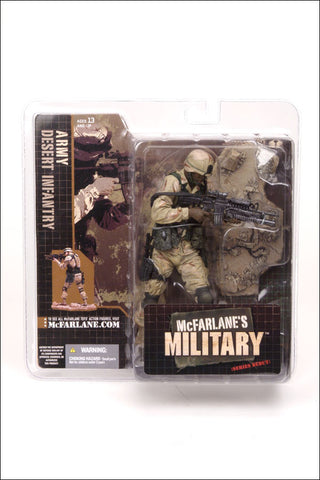 McFarlane - Military Series 1 - Army Desert Infantry