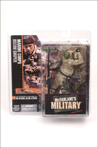 McFarlane - Military Series 1 - Marine Corps Recon Sniper