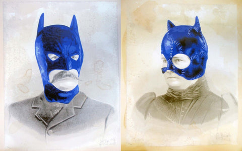 Mr. Brainwash - Bat Papi and Cat Nana - 2008 - Print Set