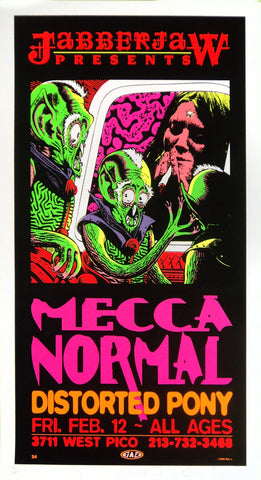 TAZ - 1992 - Mecca Normal Concert Poster