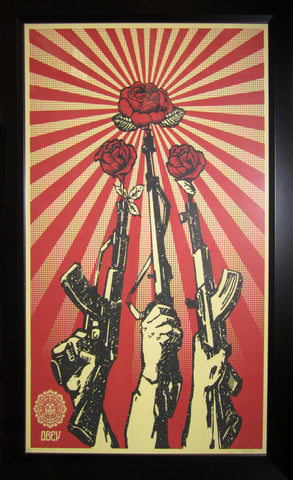 Shepard Fairey - 2006 - Guns and Roses (Offset) Art Print