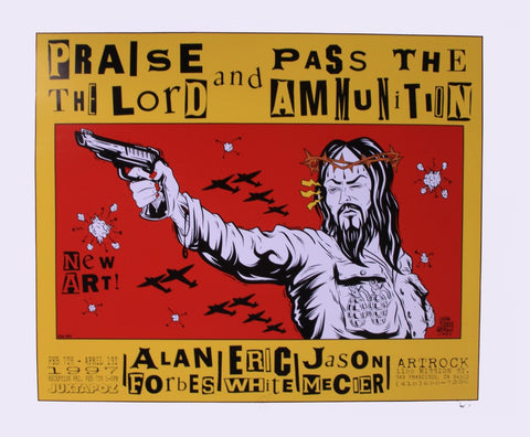 Alan Forbes - 1997 - Praise The Lord Concert Poster