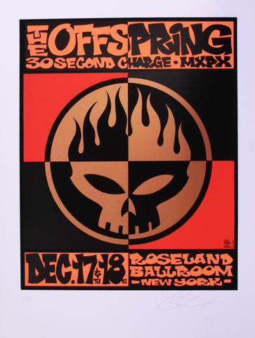 Alan Forbes - 2000 - Offspring Concert Poster