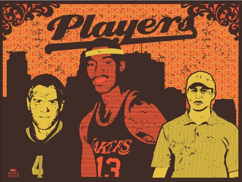 MC - 2011 - Players (Variant) Art Print