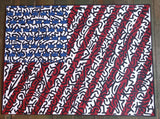 Armando Chainsawhands - 2016 - American Flag Art Print
