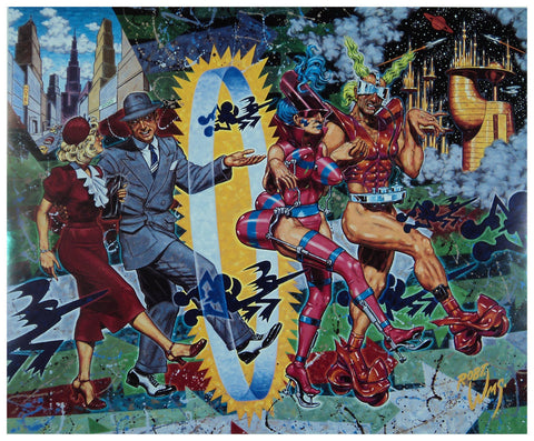 Robert Williams  Vanity Of The New Poster Unsigned
