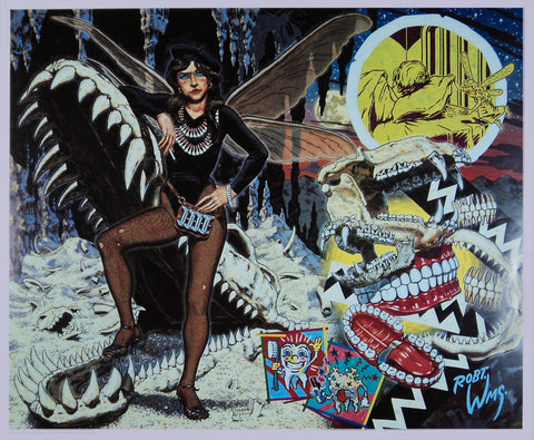 Robert Williams - 1992 - The Tooth Fairy Print (Signed)
