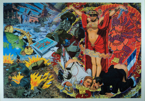 Robert Williams - 1992 - Mata Hari Print (Unsigned)
