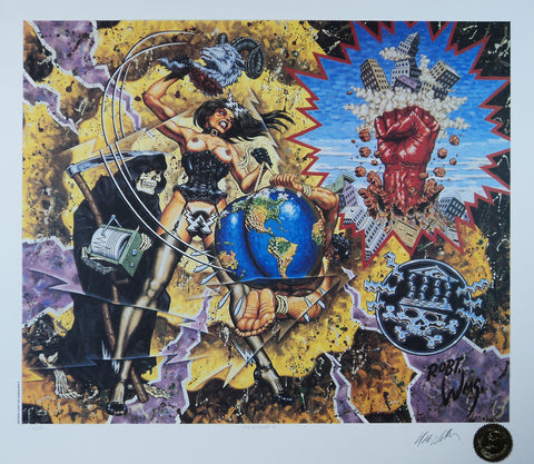 Robert Williams - 1990 - Magnitude X Lithograph (Signed)