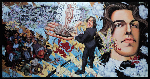 Robert Williams  - 1990 -  Oscar Wilde in Leadville Poster (Signed)