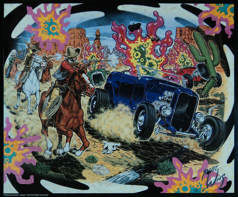 Robert Williams - 1992 - Cowboys and Amoebas Print (Signed)