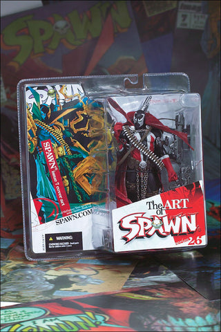 McFarlane - Spawn Series 26: The Art of Spawn - Spawn (Issue 7 Cover Art)