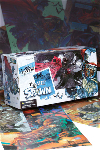 McFarlane - Spawn Series 26: The Art of Spawn - Spawn Vs Cy-Gor (Issue 57 Cover Art)
