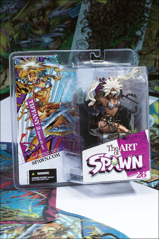 McFarlane - Spawn Series 26: The Art of Spawn - Tiffany 2 (Issue 45 Art)