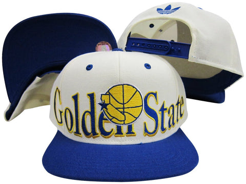 Snapback - NBA Golden State Warriors Flat Bill Adidas Hat