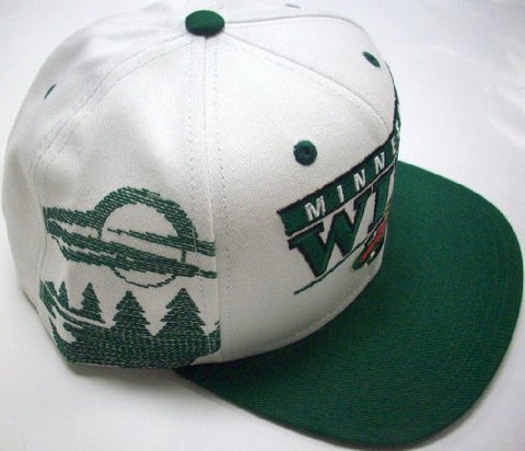 Snapback - Minnesota Wild Flat Bill Adjustable Reebok