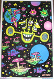Felt Black Light Poster - 1997 - Joey Mars Space Out