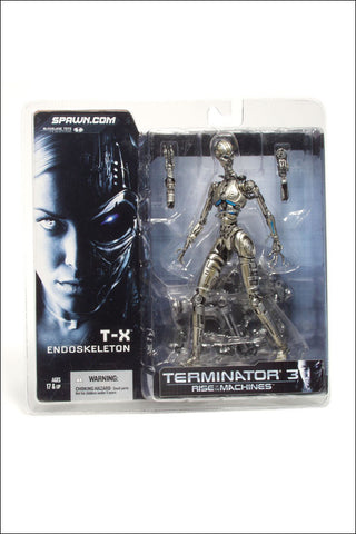 McFarlane - Terminator 3: Rise of the Machines - T-X Terminatrix Endoskeleton