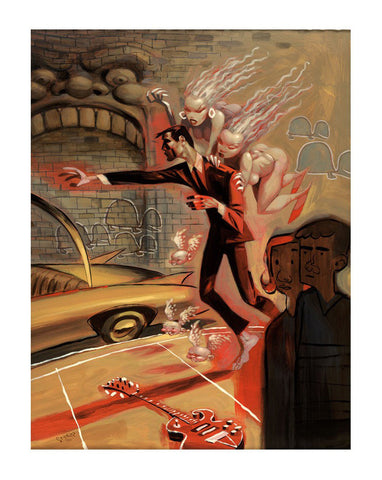 Glenn Barr - 2005 - The Furies Art Print