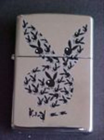 Zippo Lighter - Pinup - Playboy Rabbits