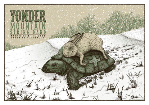 Neal Williams - 2013 Yonder Mountain String Band - Aspen Concert Poster