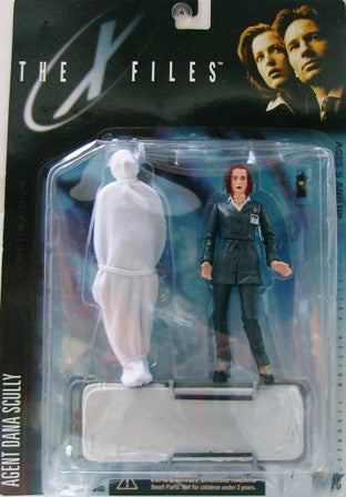 McFarlane - X-Files - Agent Dana Scully with Victim & Gurney