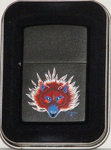 Zippo Lighter - Stanley Mouse - Steppenwolf