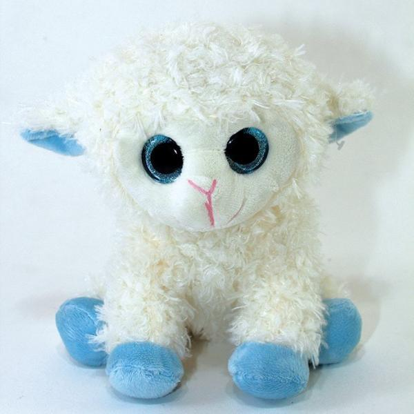 "10"" Big eye Lamb (Blue and Ivory) - Viva La Rosa"