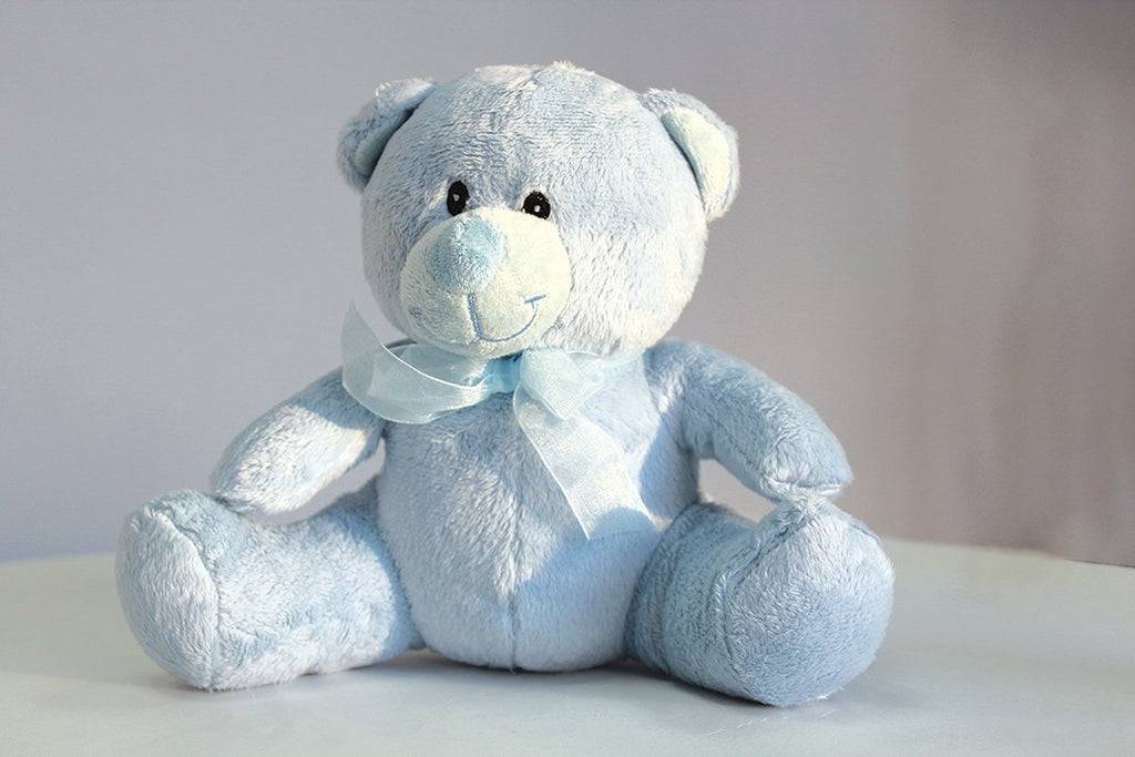 "Blue Timothy Bear 8"" - Viva La Rosa"