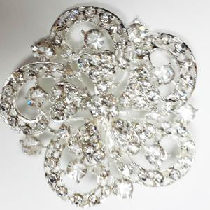 Diamond Brooch decoration - Viva La Rosa