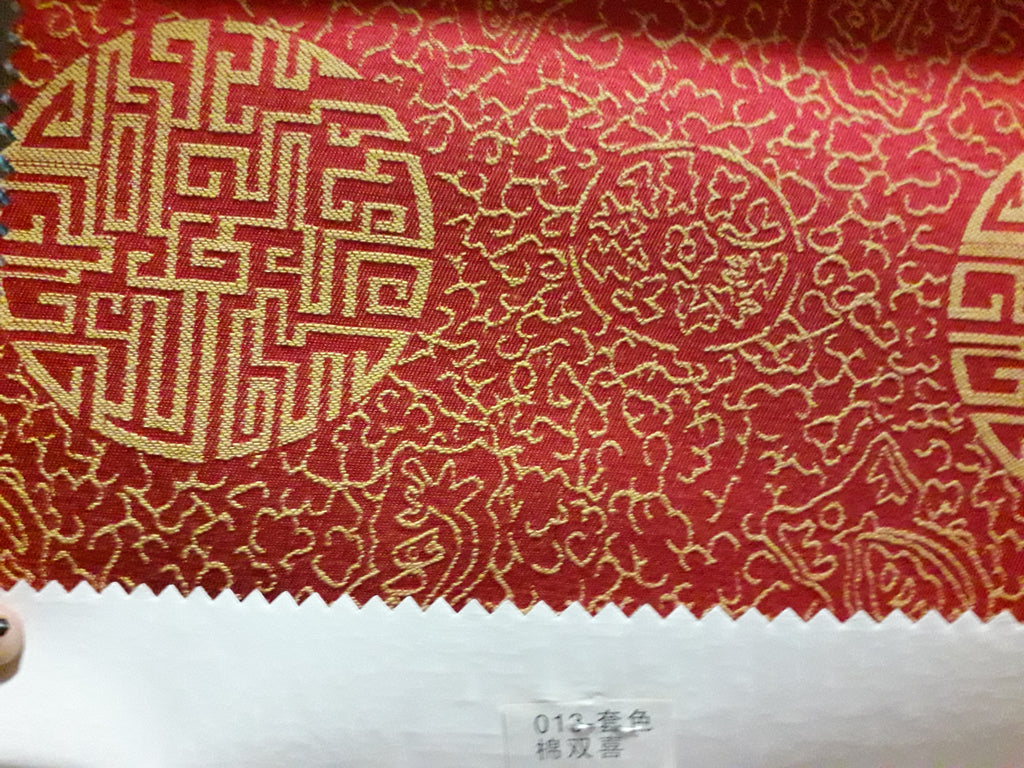 "Sequin Table Cloth Square 90""x156 (Red)- 013"