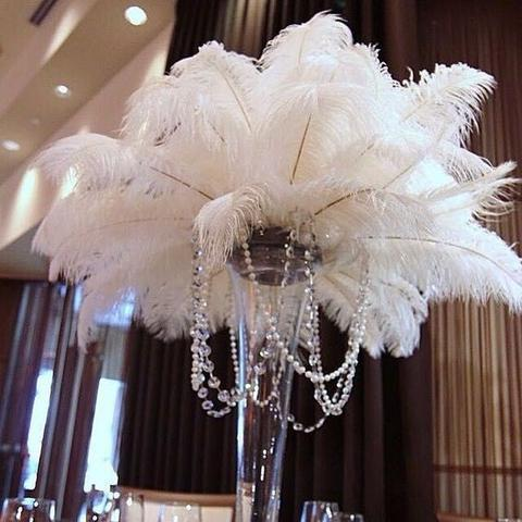 "OSTRICH FEATHER PLUMES ALL LENGTHS ALL COLORS(18""-20"")-OST6"
