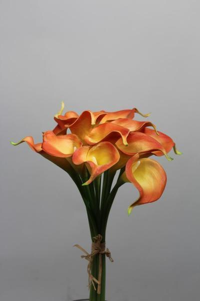 Real touch calla lily Medium wedding decor (Yellow)-SB113YW