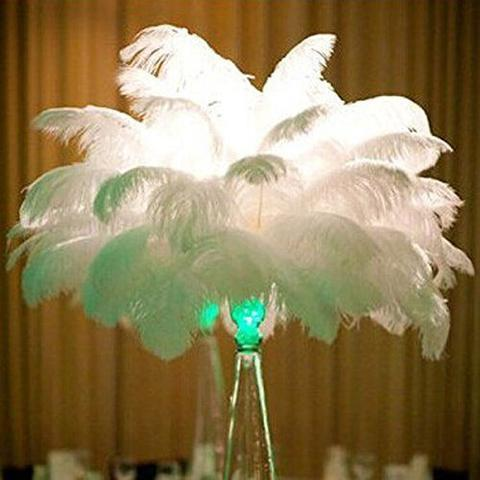 "OSTRICH FEATHER PLUMES ALL LENGTHS ALL COLORS(16""-18"")-OST5"