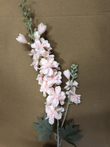 Artificial Silk flower Delphinium (light pink)DEL1 - Richview Glass Wedding Supplies