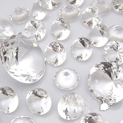 4cm Acrylic Diamond Decoration (10 pcs) - Viva La Rosa