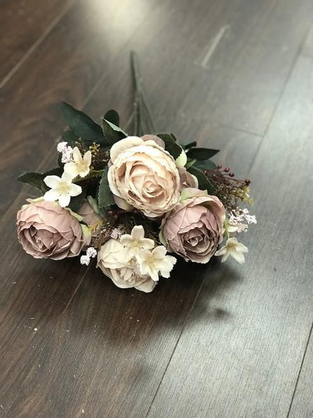 Yummy Close Head Roses Artificial Flower (torquise)- YUM4