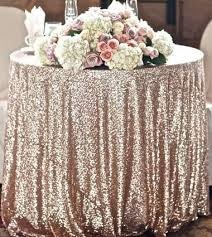 "Sequin Table Cloth Square 90""x156 (Black)-seq4"