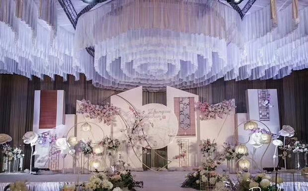 Hanging Ceiling Fabric - Richview Glass Wedding Supplies