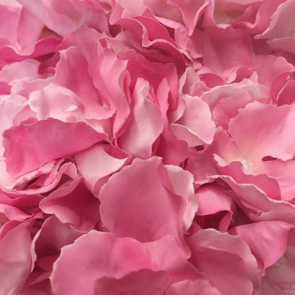 mixed pink hydrangea artificial flower