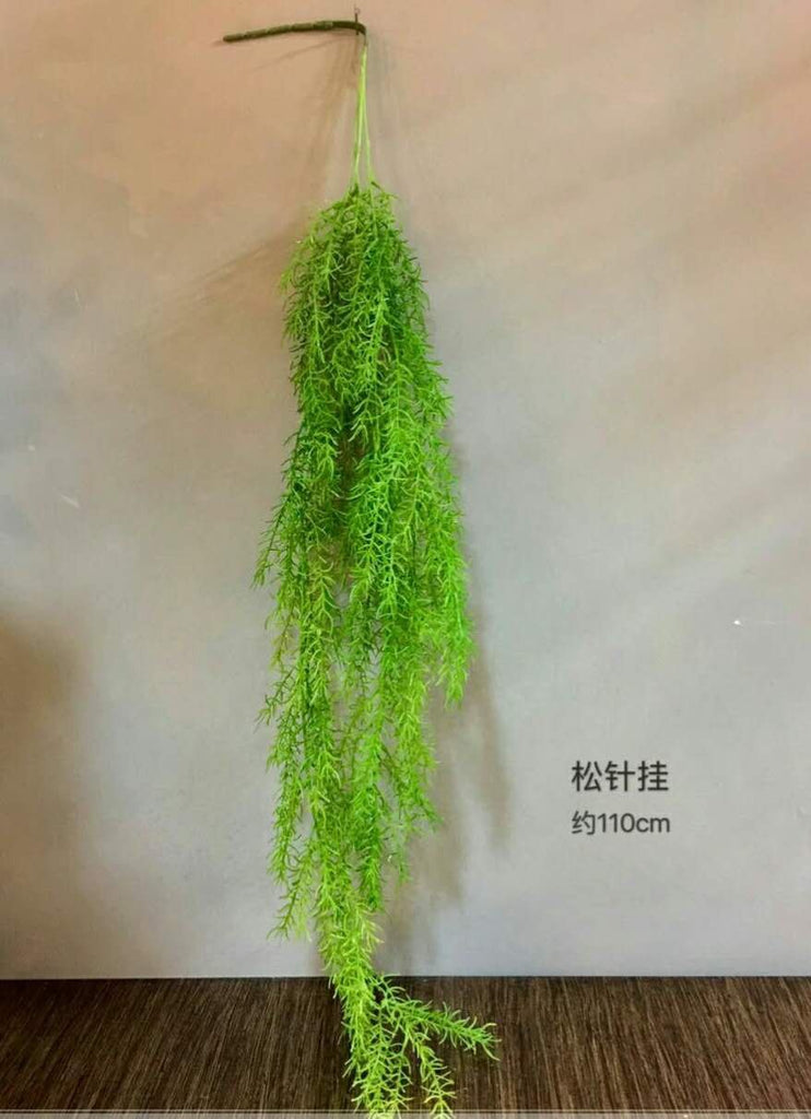Hanging Pine/Needle Greenery for Wedding home decor - Richview Glass Wedding Supplies