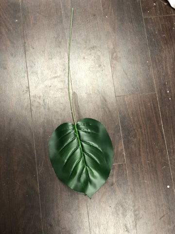 GREEN TROPICAL LEAF FOR WEDDING ARTIFICIAL FLOWER - Richview Glass Wedding Supplies