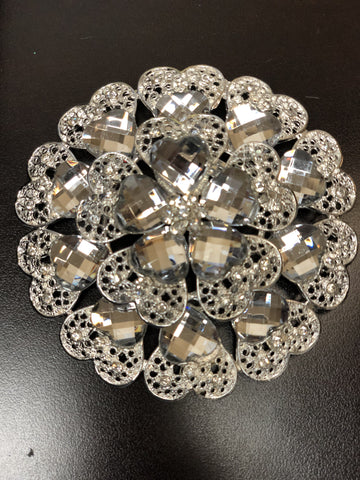 Flower Brooch decoration - Viva La Rosa