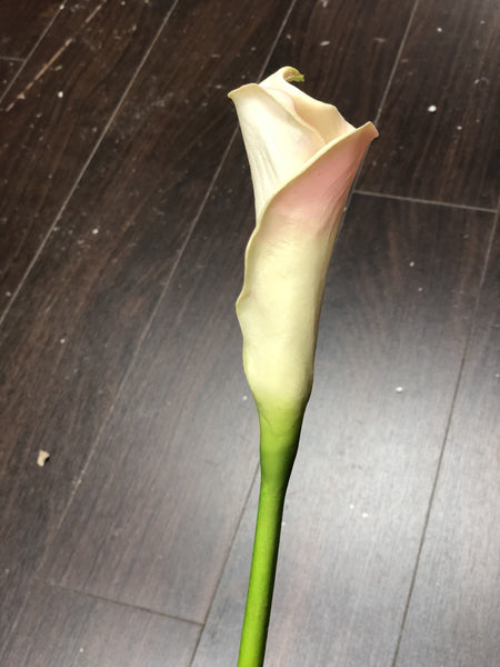 Real touch calla lily Medium wedding decor (Orange)-SB113OR