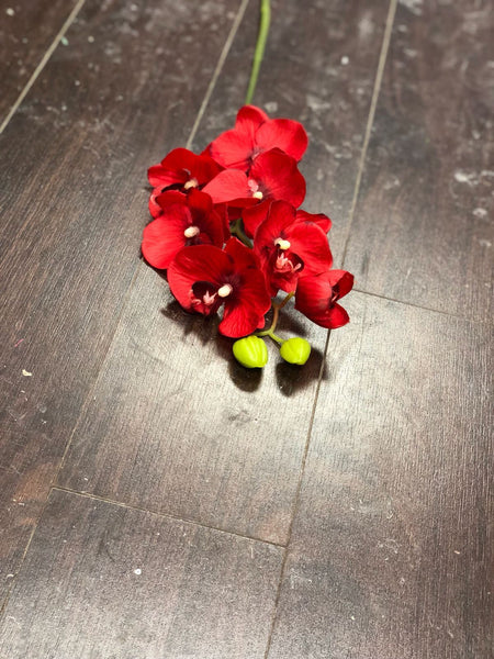 Real touch submersible Orchid in Red