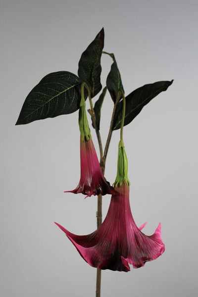 "Artificial Flower Angel's Trumpet real touch floramatique SB136 49""(Red)-ART1-26 - Viva La Rosa"