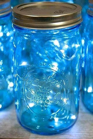 Fairy lights 1 metre Blue