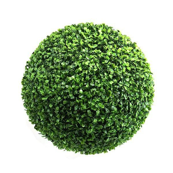"16"" Topiary Boxwood Ball - Viva La Rosa"